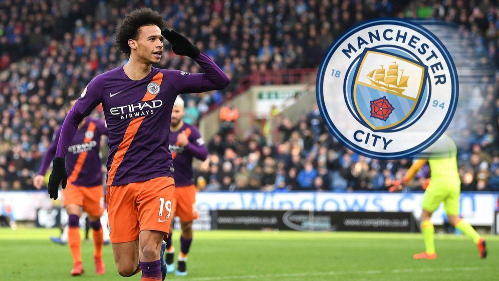 Sanes Vertrag in Manchester läuft noch bis 2021. - Bildquelle: 2019 Getty  Images