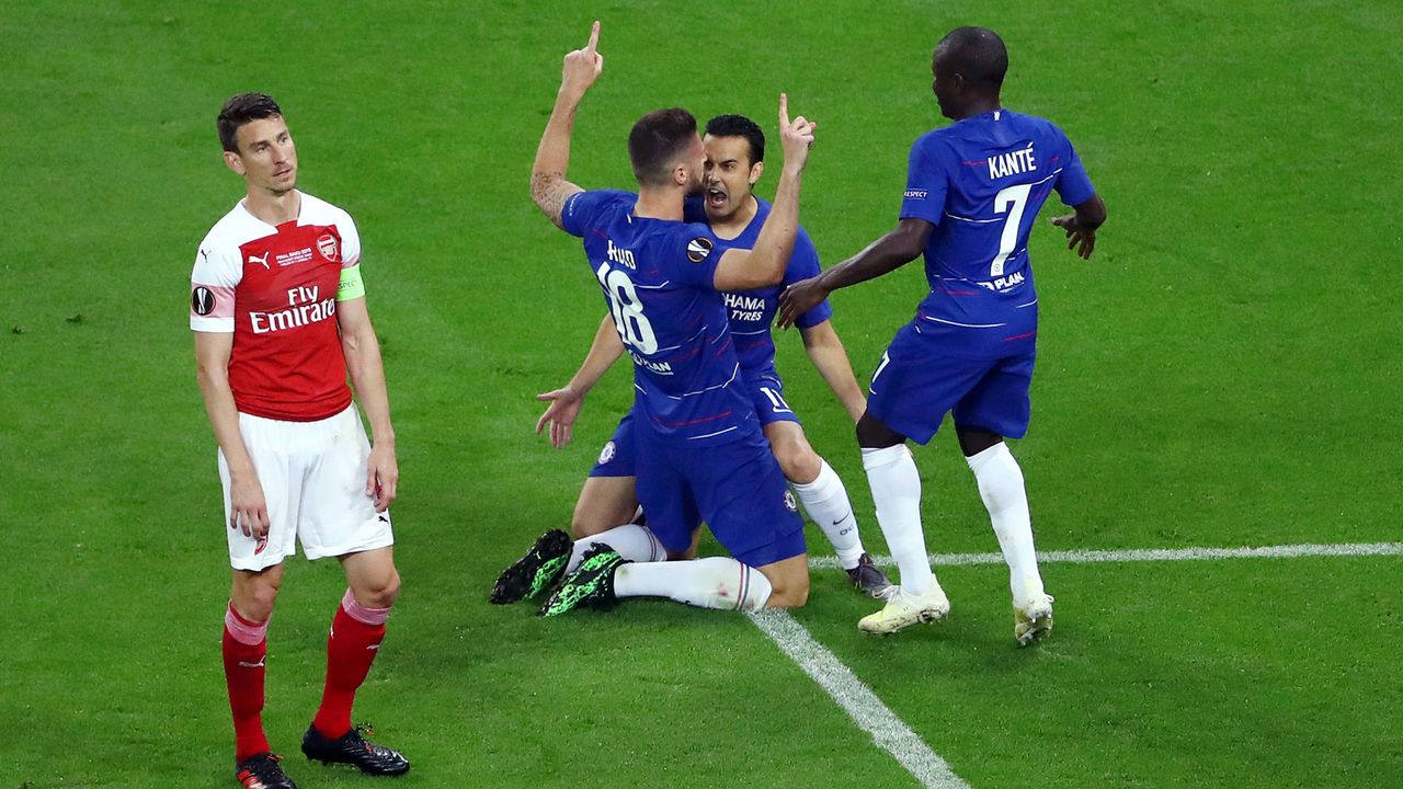 Europa-League-Finale: Chelsea und Arsenal in der Einzelkritik - Bildquelle: Getty