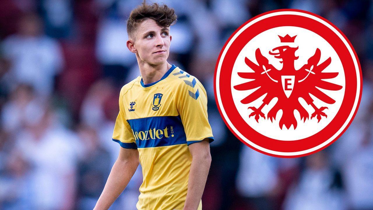 Jesper Lindström (Eintracht Frankfurt) - Bildquelle: imago images/Ritzau Scanpix