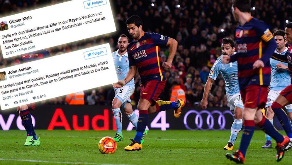 Messi Elfmeter Trick