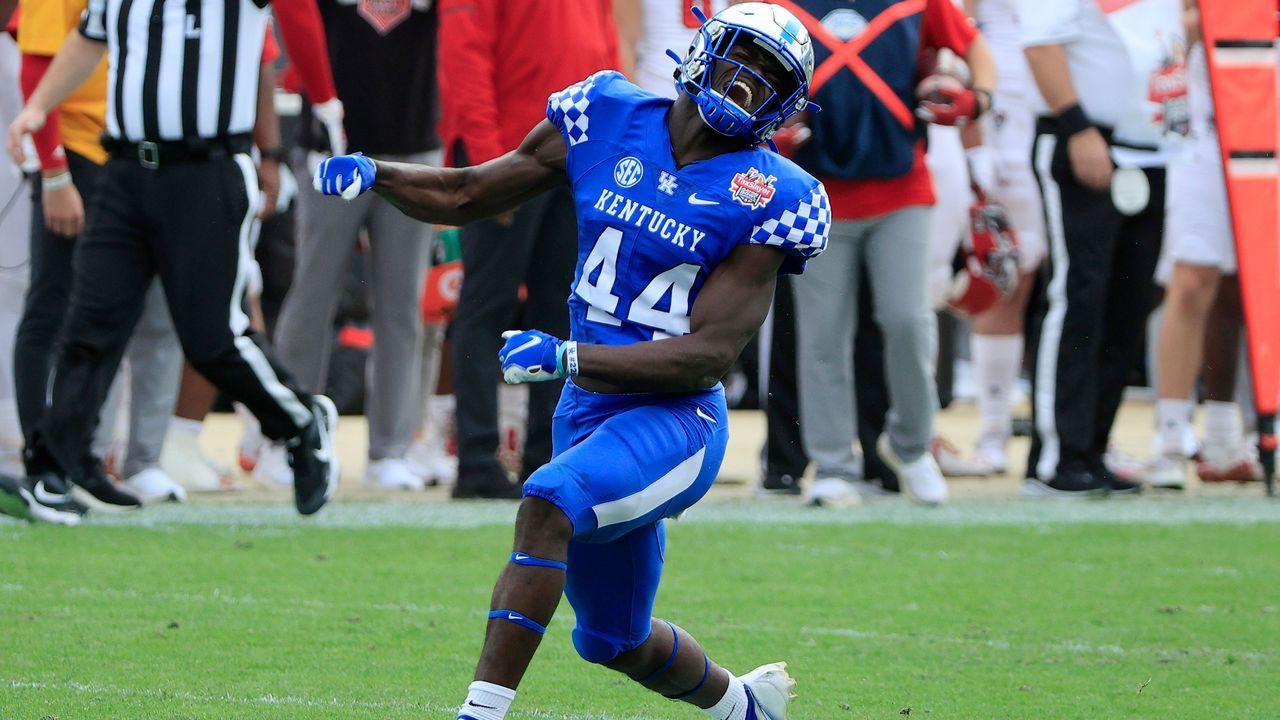 19. Pick - Jamin Davis (Linebacker, Washington Football Team) - Bildquelle: 2021 Getty Images