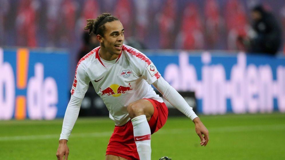 Stürmer Yussuf Poulsen ist seit 2013 bei RB Leipzig - Bildquelle: PIXATHLONPIXATHLONSID