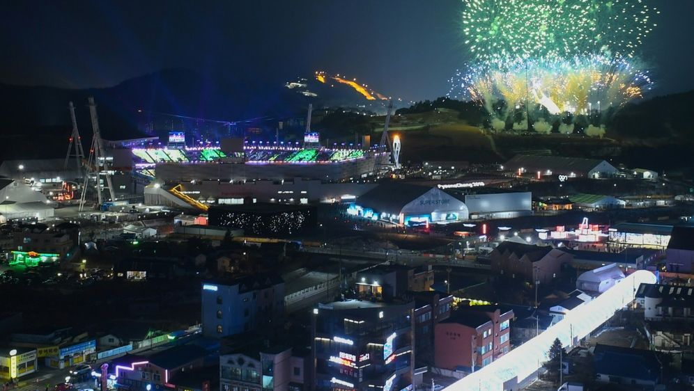 Mit bunter Schlussfeier beendet: Olympia in Südkorea - Bildquelle: AFPSIDJUNG Yeon-Je