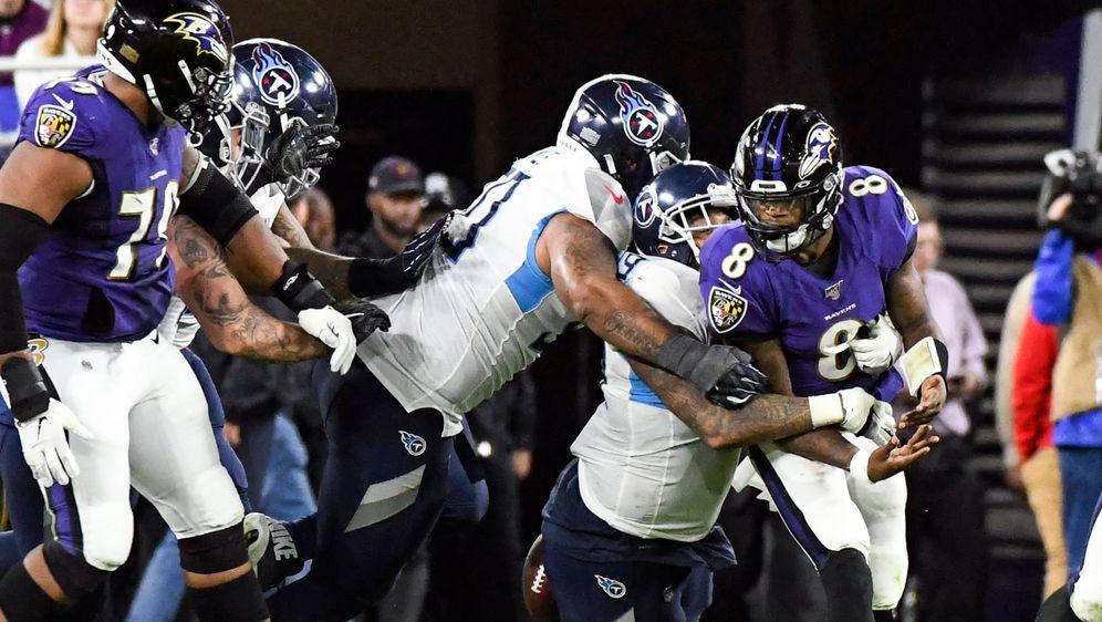 Die Baltimore Ravens schieden gegen die Titans aus. - Bildquelle: imago images/Icon SMI