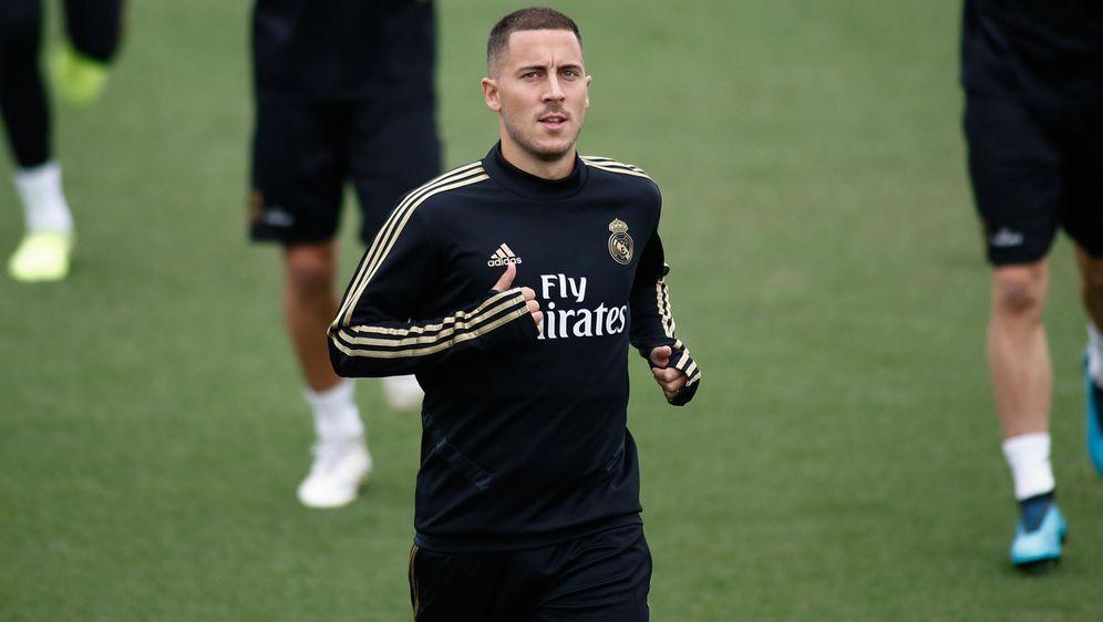 Eden Hazard steht vor seinem Pflichtspieldebüt bei Real Madrid - Bildquelle: imago images / ZUMA Press