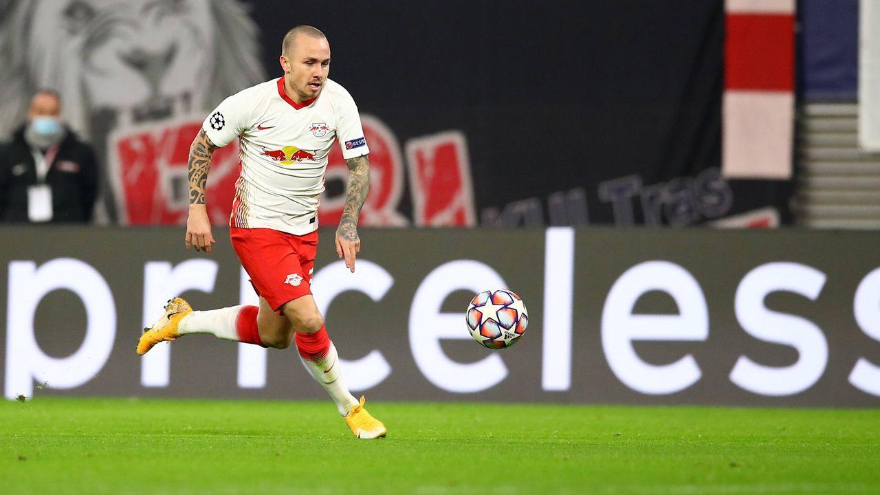 Abwehr: Angelino (RB Leipzig) - Bildquelle: imago images/Picture Point LE