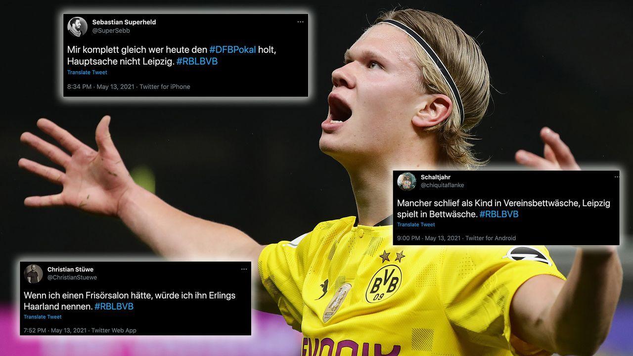 Hulk Haaland: Die Netzreaktionen zum BVB-Pokalsieg - Bildquelle: Getty Images
