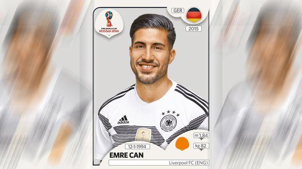 Emre Can (FC Liverpool) - Bildquelle: Panini