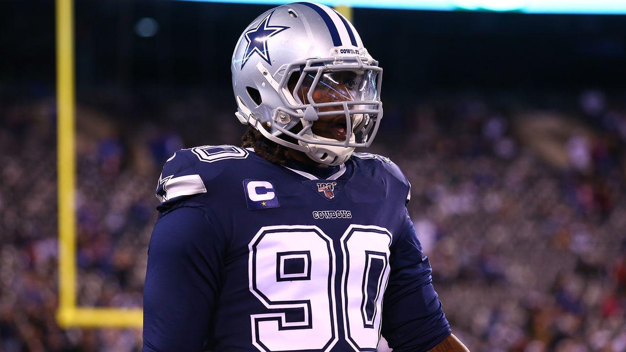 Platz 9: DeMarcus Lawrence (Dallas Cowboys) - Bildquelle: Imago Images