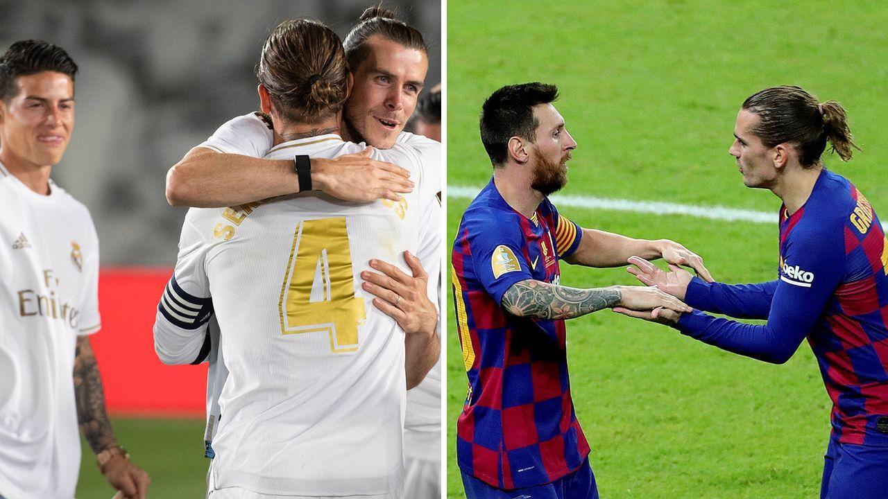 Real und Barca im Vergleich: Störenfriede - Bildquelle: Imago