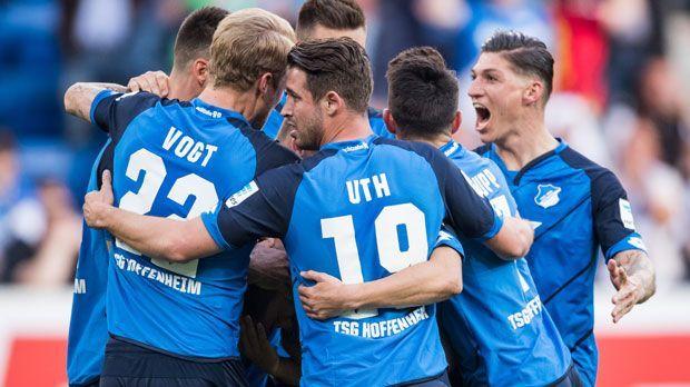 Platz 7: TSG 1899 Hoffenheim - Bildquelle: 2017 Getty Images