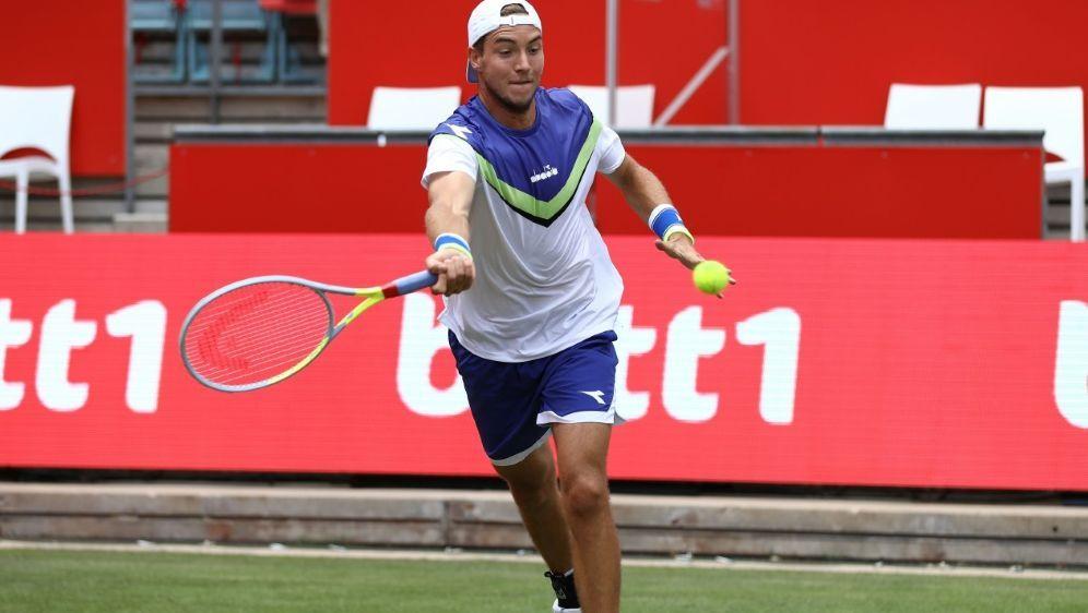 Jan-Lennard Struff ist beim Turnier in Halle am Start - Bildquelle: AFPSIDMICHAEL HUNDT