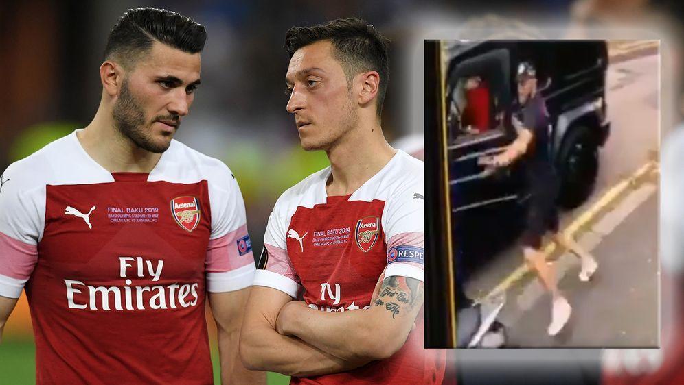 Mesut Özil und Seat Kolasinac wurden Opfer eines Überfalls. - Bildquelle: Getty Images