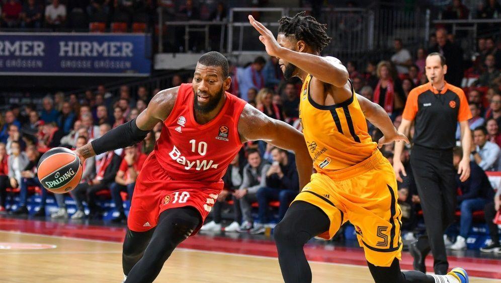 EuroLeague: Pleite für Greg Monroe und Bayern München - Bildquelle: PIXATHLONPIXATHLONSID