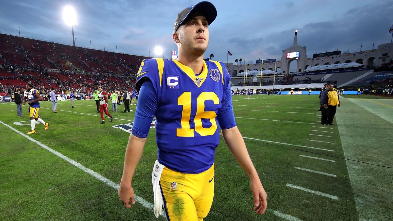 Platz 3: Jared Goff (Los Angeles Rams) - Bildquelle: Getty