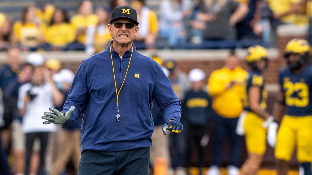 Jim Harbaugh (Head Coach - Michigan Wolverines) - Bildquelle: 2021 Getty Images