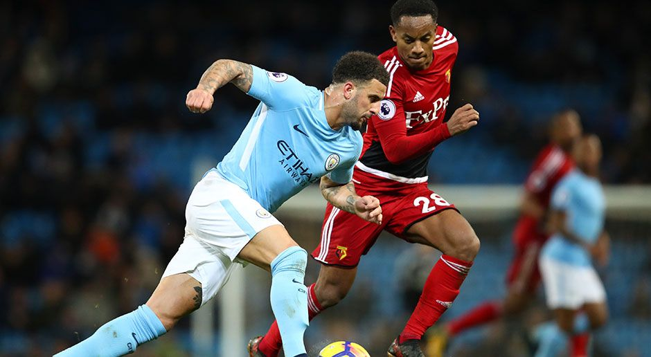 5. Kyle Walker (Manchester City) - Bildquelle: Getty Images