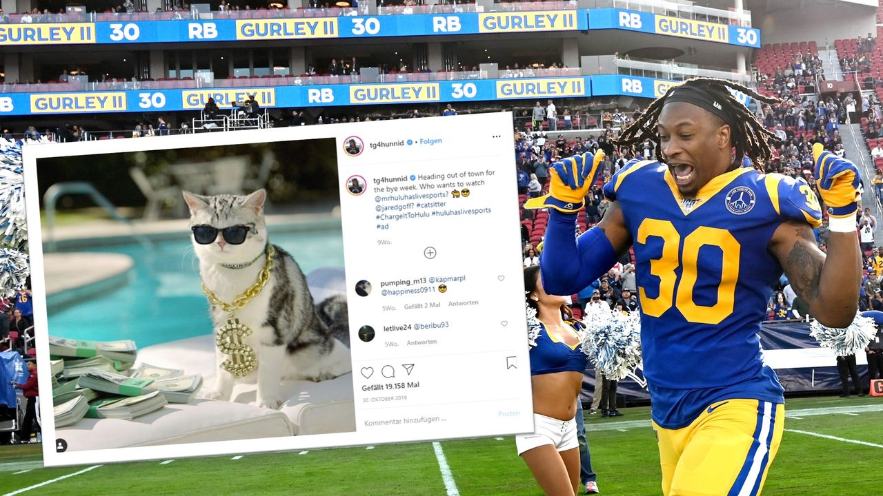Todd Gurley - Los Angeles Rams - Bildquelle: getty/@tg4hunnid