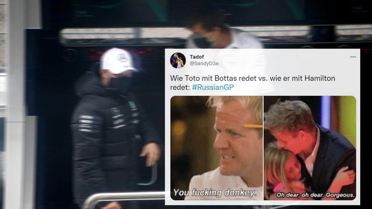 Bottas bekommt Ansage vom Chef - Bildquelle: imago images/HochZwei