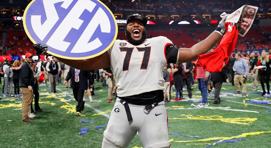 23. Pick - New England Patriots: OL Isaiah Wynn - Bildquelle: getty