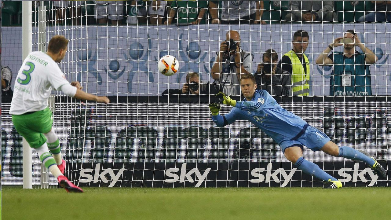 2015: VfL Wolfsburg - FC Bayern München 6:5 n.E. - Bildquelle: Imago Images