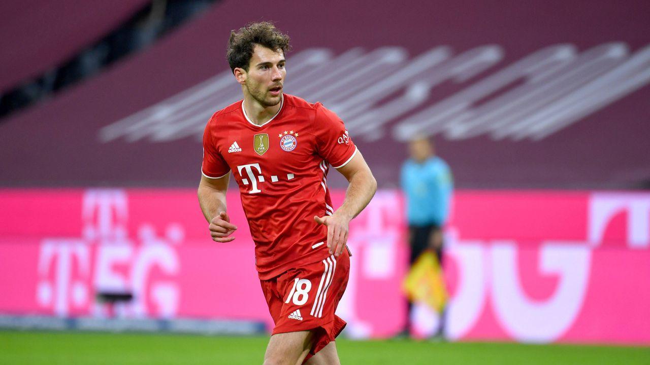 Platz 7: Leon Goretzka (FC Bayern München) - Bildquelle: imago images/Sven Simon