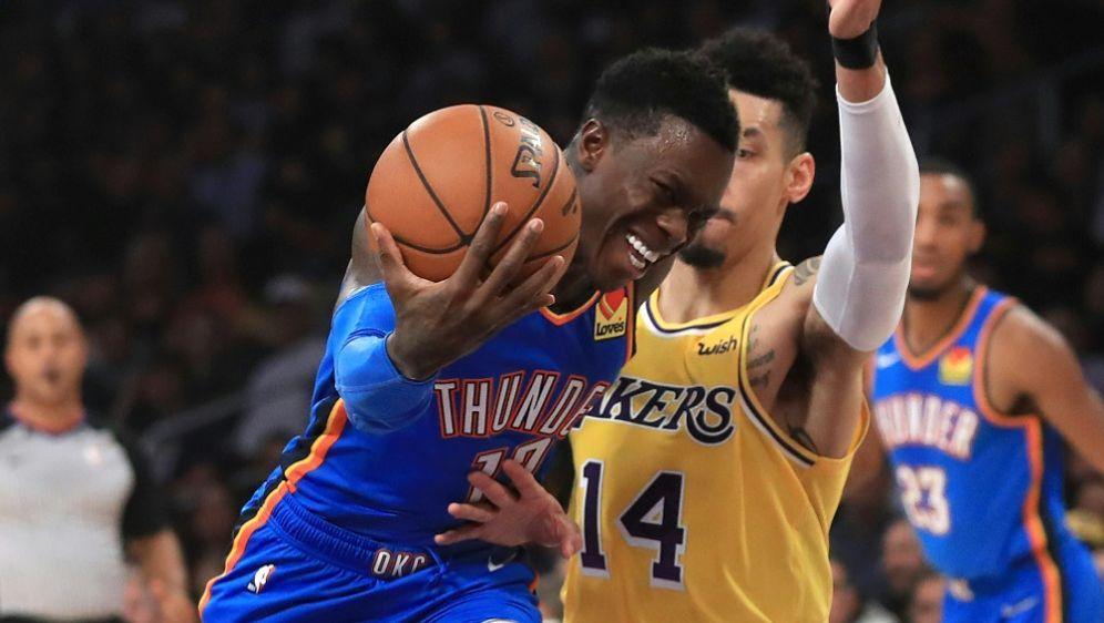 31 Punkte gegen die Lakers: Dennis Schröder - Bildquelle: AFPGETTY SID