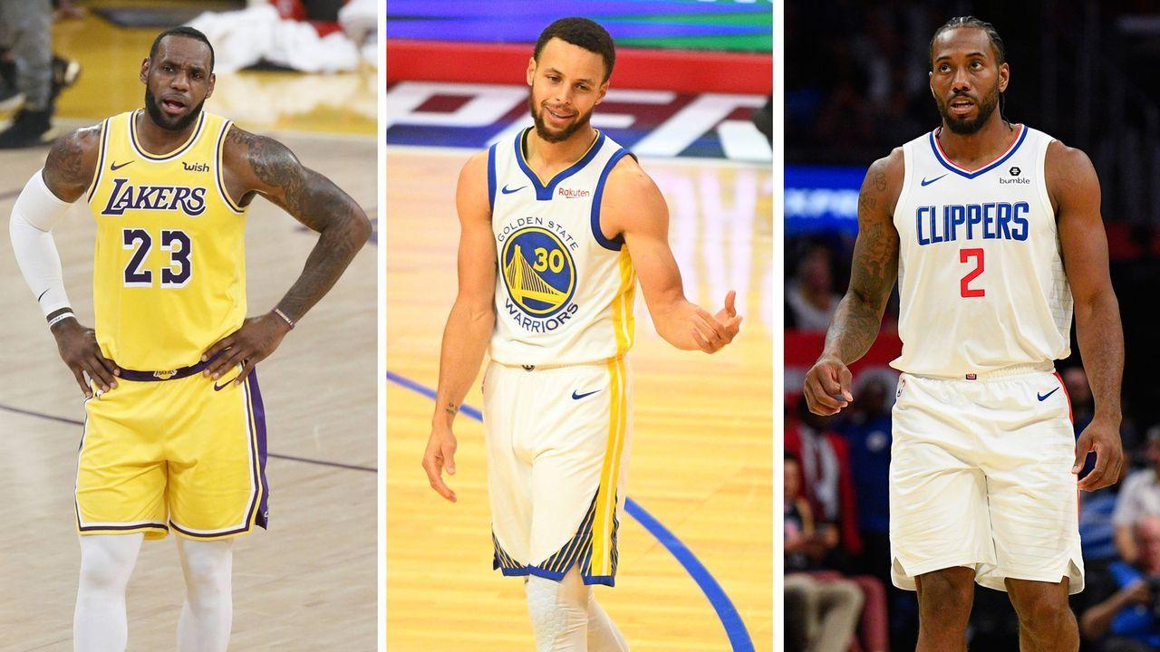 NBA: Das Western-Conference-Power-Ranking - Bildquelle: imago