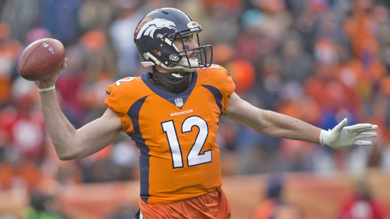 Option nicht möglich: Paxton Lynch (Seattle Seahawks) - Bildquelle: imago