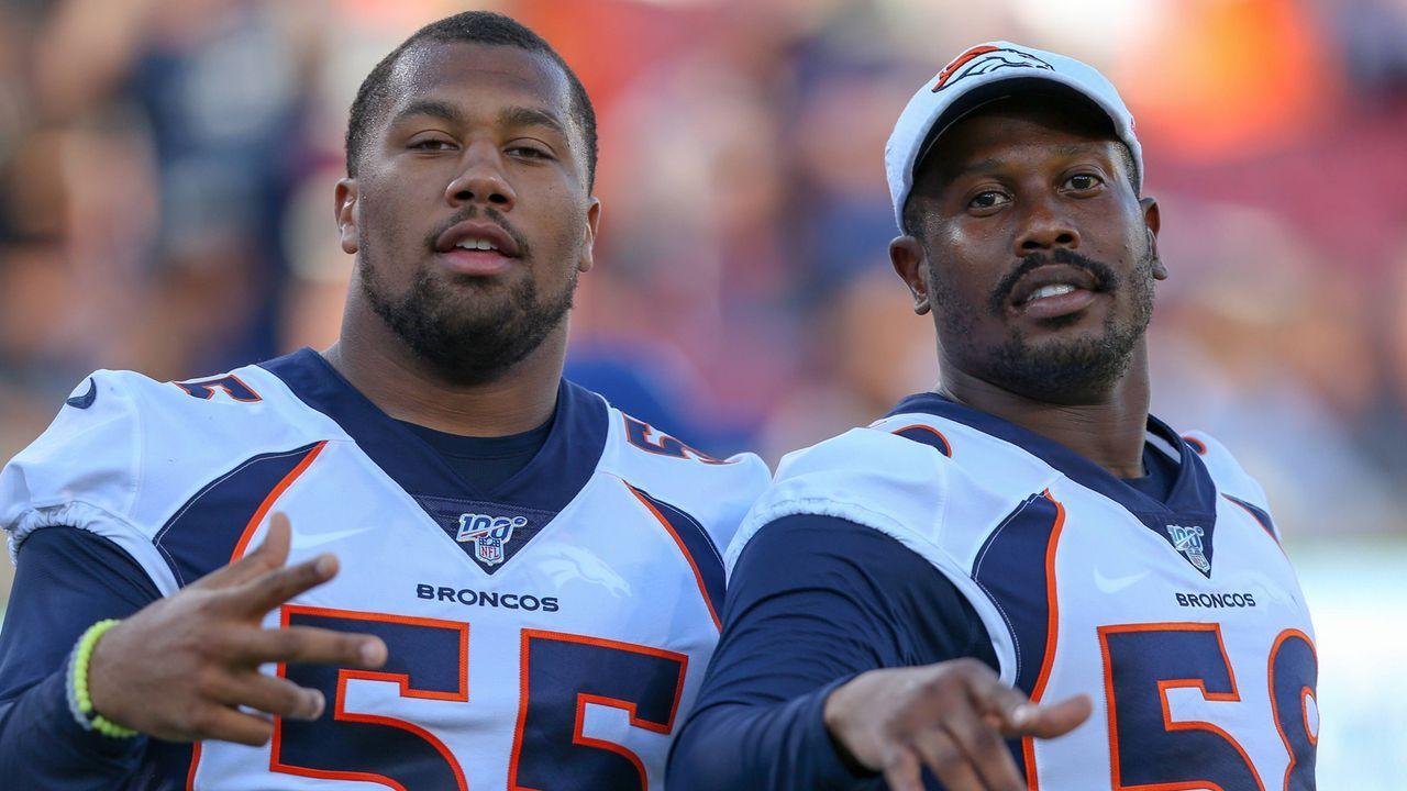 Denver Broncos - Bleiben die Stars in der Defense fit?  - Bildquelle: imago images / Icon SMI