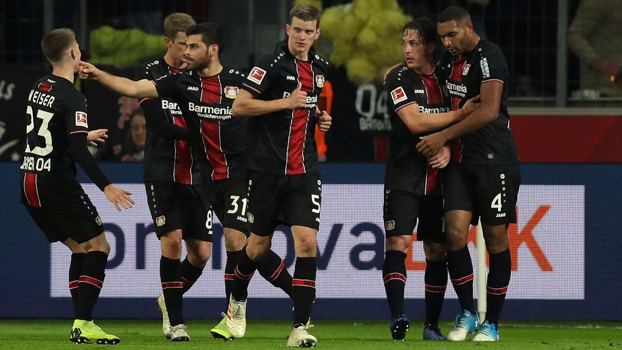 Platz 3 - Bayer Leverkusen - Bildquelle: 2018 Getty Images