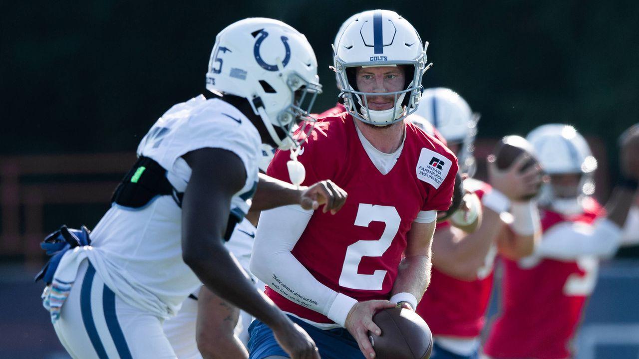 Indianapolis Colts - Hat sich das Wentz-Investment gelohnt?  - Bildquelle: imago images/Icon SMI