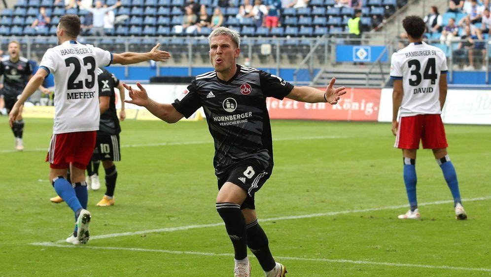 Der 1. FC Nürnberg ist weiterhin ungeschlagen - Bildquelle: Imago