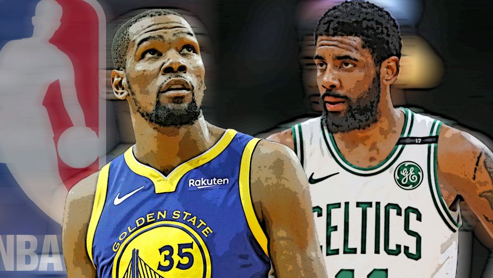 Die neuen Superstars der Nets: Kevin Durant und Kyrie Irving - Bildquelle: Getty Images