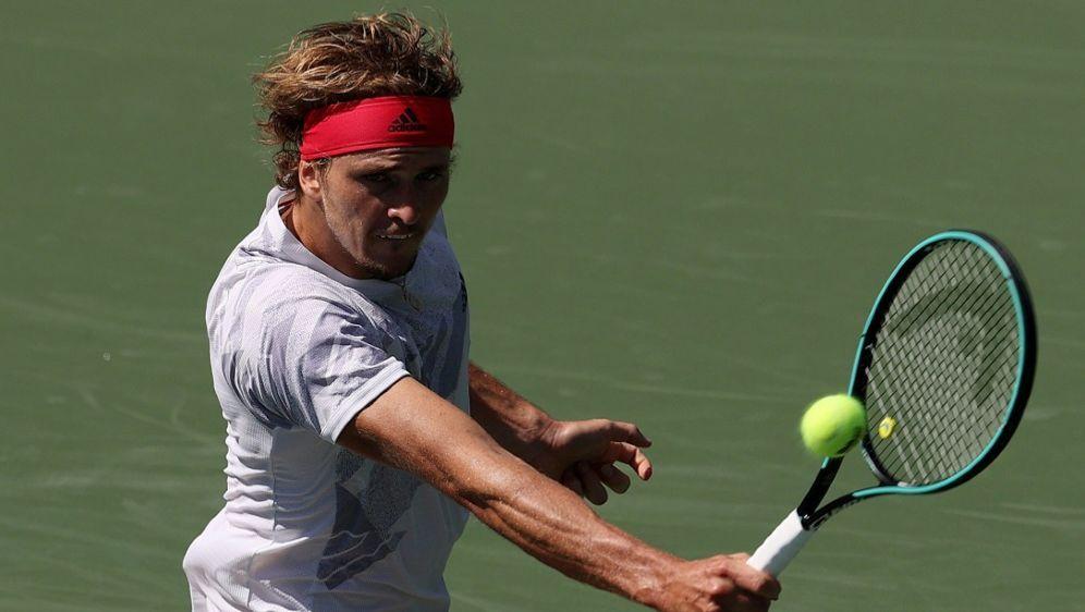Alexander Zverev steht im Viertelfinale der US Open - Bildquelle: AFPSIDAL BELLO