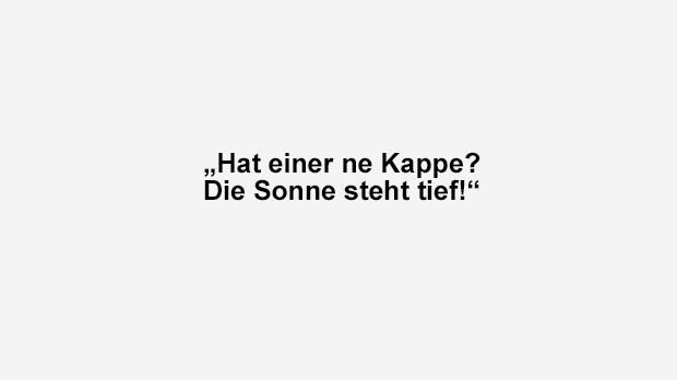 Kappe - Bildquelle: ran.de
