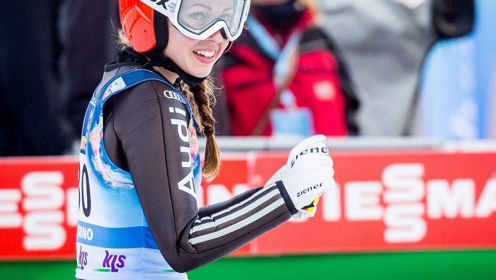 Seyfarth sprang am Sonntag auf Platz zwei in Oberstdorf - Bildquelle: PIXATHLONPIXATHLONSID