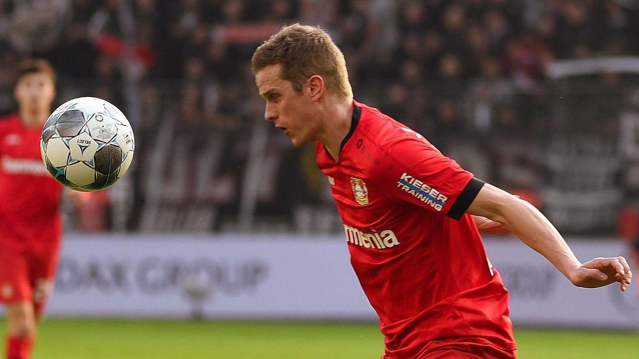 Platz 10: Sven Bender (Bayer Leverkusen) - Bildquelle: imago images/Jan Huebner