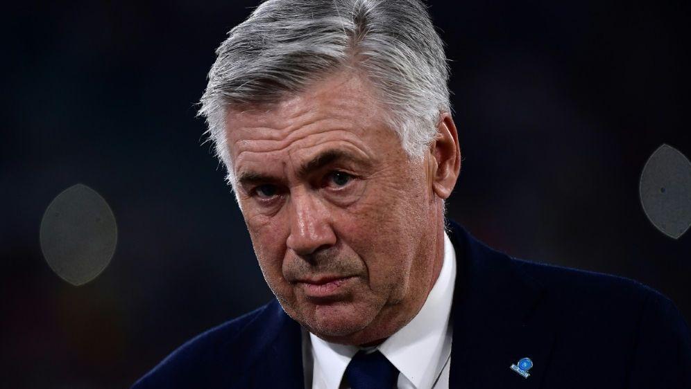 Carlo Ancelotti kritisiert den Kabinenzustand - Bildquelle: AFPSIDMARCO BERTORELLO