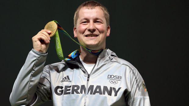 Christian Reitz (Schießen/Gold) - Bildquelle: 2016 Getty Images