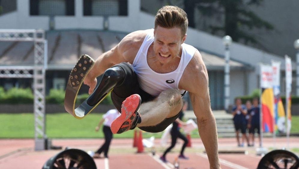 Knapp den eigenen Weltrekord verpasst: Markus Rehm - Bildquelle: AFPSIDKAZUHIRO NOGI