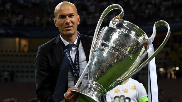 Zinedine Zidane (Real Madrid) - Bildquelle: 2016 Getty Images