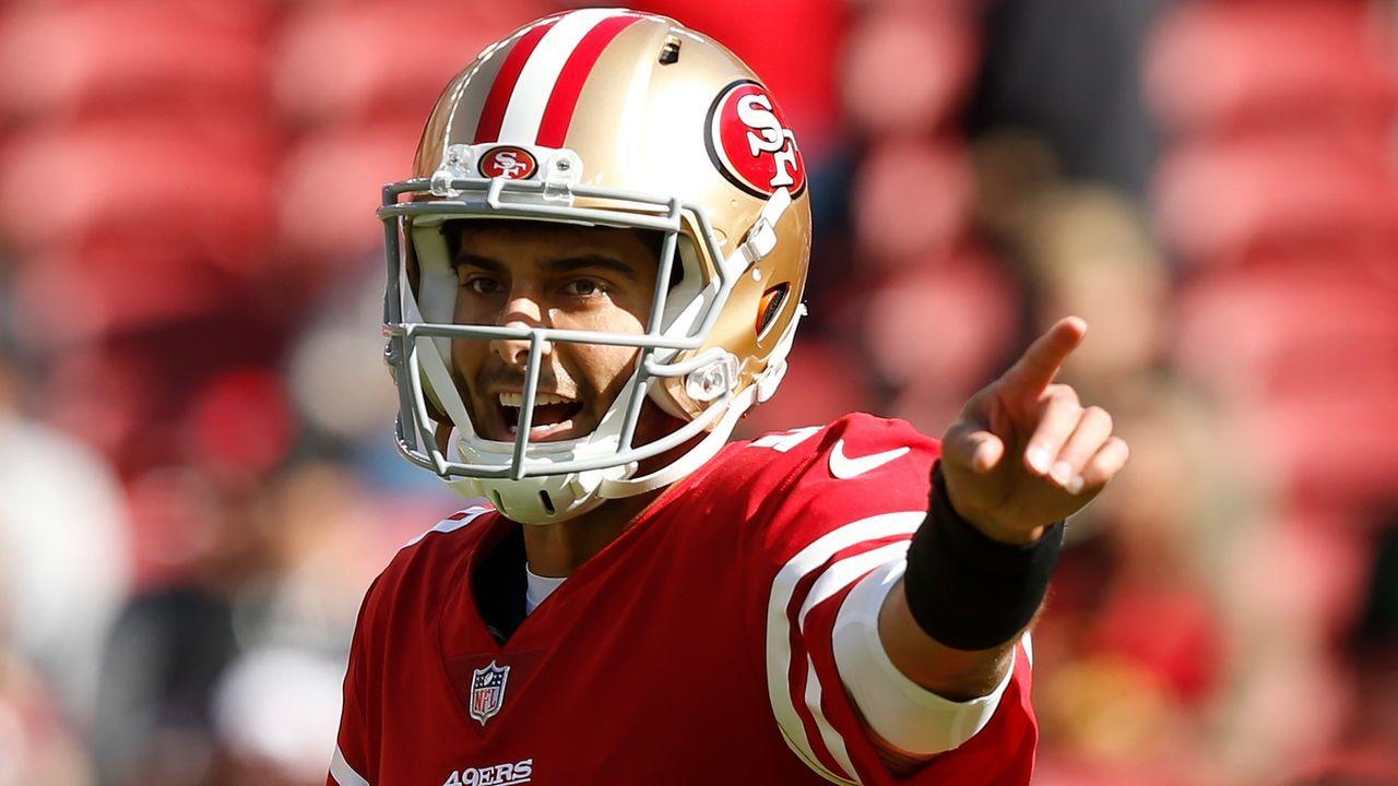 Jimmy Garoppolo (Quarterback, San Francisco 49ers) - Bildquelle: 2017 Getty Images