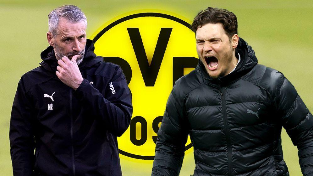 Wird Edin Terzic den BVB nach der Saison verlassen? - Bildquelle: Imago Images/Getty Images