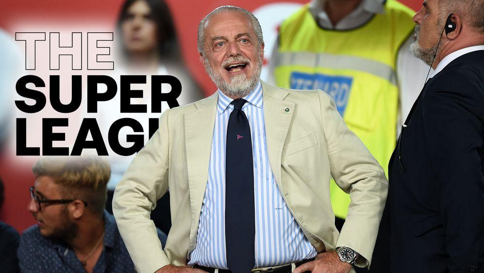 De Laurentis spricht sich für die Super League aus - Bildquelle: AFPSIDMAURO FAGIANI