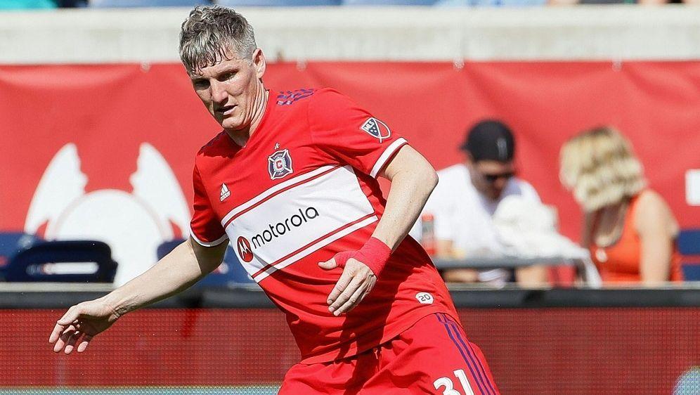 1:1 mit Chicago: Bastian Schweinsteiger - Bildquelle: AFPGETTY SID