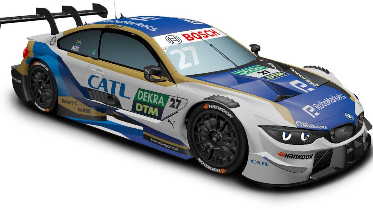 Jonathan Aberdein (BMW Team RMR) - Bildquelle: DTM