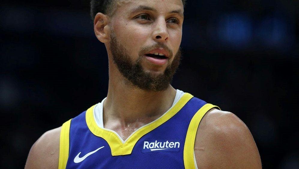 Lange Pause für Basketball-Superstar Stephen Curry - Bildquelle: AFPGETTY SIDChris Graythen