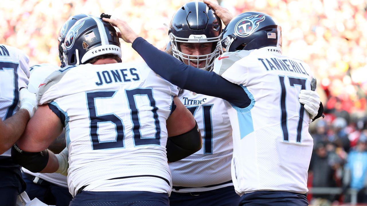 Platz 24: Tennessee Titans - Bildquelle: 2016 Getty Images