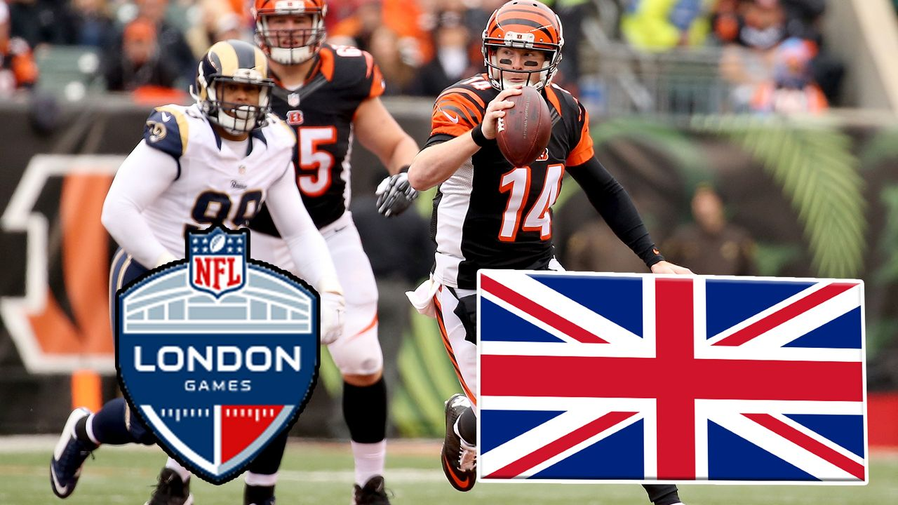 2019 in London: Cincinnati Bengals vs. Los Angeles Rams - Bildquelle: Getty
